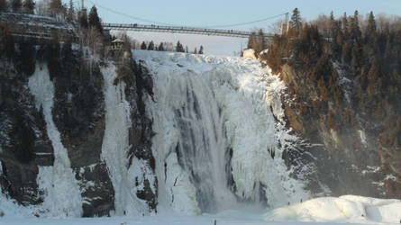 Quebec II: Montmorency Falls by Kassis