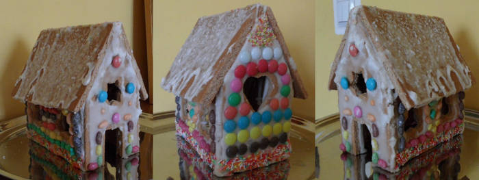Gingerbread House 2011 by Kassis