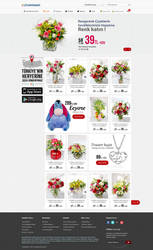Flower Ecommerce by BeyazPolycarp