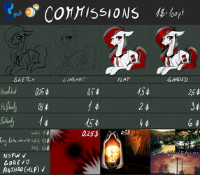COMMISSIONS! CLOSED by VeriMors