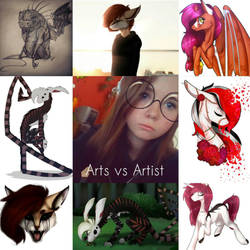 Arts vs Artist by VeriMors