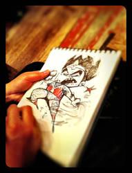 Sketchbomb Sketch by UltimateOshima
