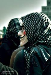 V for 'Egyption Revolution' by queenyasmin