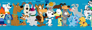 My Favorite Cartoon Dogs by JustinandDennis
