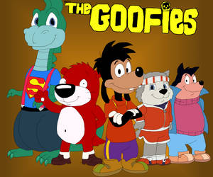 The Goofies Poster by JustinandDennis