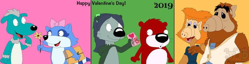 Happy Valentine's Day 2019 by JustinandDennis