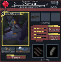 PMD-U - Team Outcast Application (Redone) by NegativeDiamond