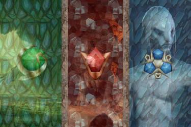 Zelda OoT Wallpaper/Poster by loismustdie555