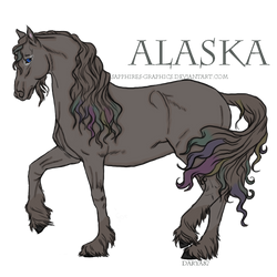 Alaska Lineart by Sapphires-Graphics