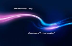 Hope Whispers by eliteshinobi3