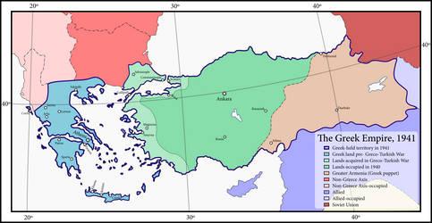 Axis Greece by ZekSora