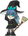 Halloween 2016 Day 11: Witch Blizzaria by DarkTidalWave
