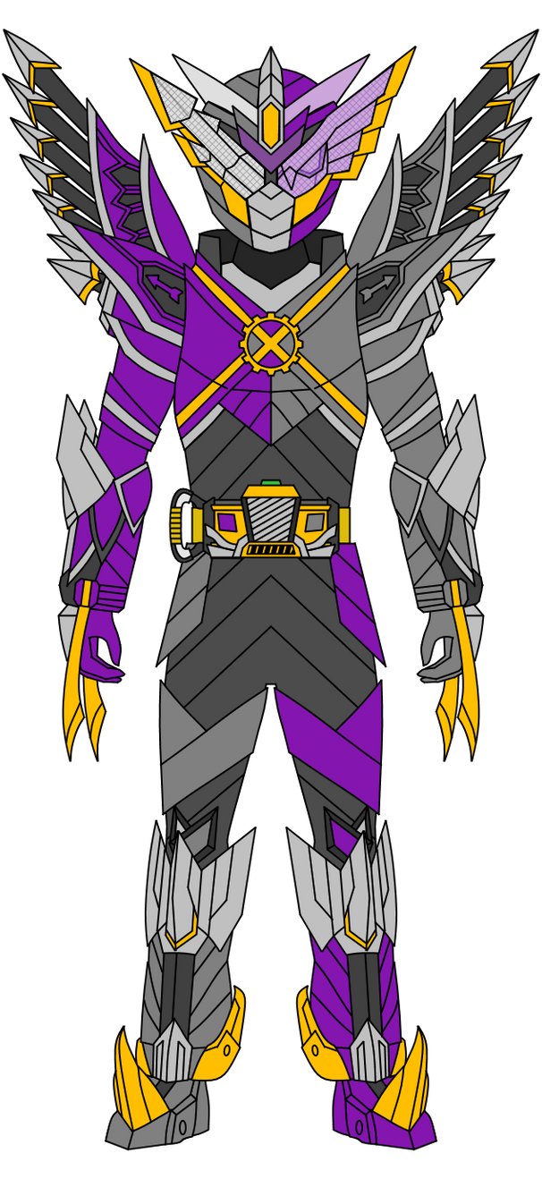 Kamen Rider Link: OwlArrow Mix Form by DarkTidalWave