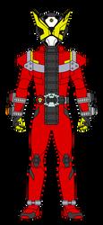 Kamen Rider Geiz by DarkTidalWave