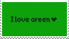 Green Stamp by Cave-Shinobi