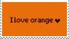 Orange Stamp by Cave-Shinobi