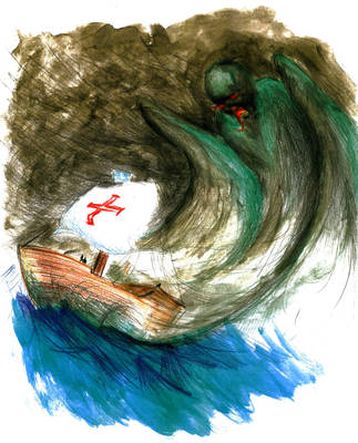The Monster by Cave-Shinobi
