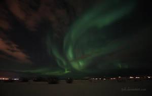 Aurora Borealis II by tjuh