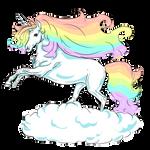 Rainbow Unicorn by Aidadaism