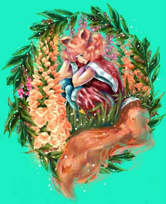 Fox Girl by Aidadaism