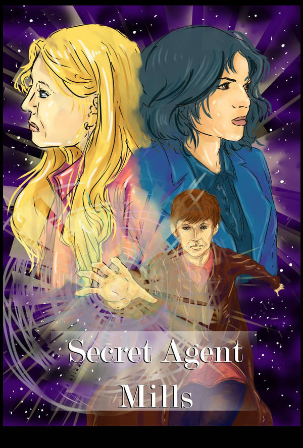 Cover Page: Secret Agent Mills by Aidadaism