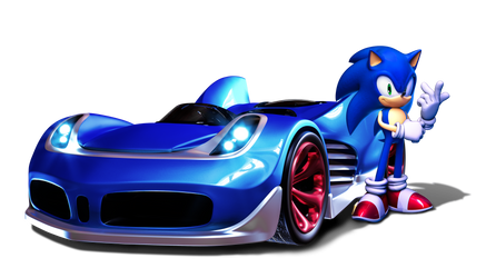 Sonic Racing by Fentonxd