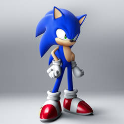 Sonic 8k Test by Fentonxd