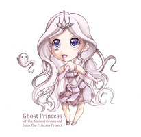 Ghost Princess Chibi Extra by Sprucie