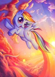 Rainbowdash by Sprucie