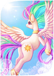 Princess Celestia by Sprucie