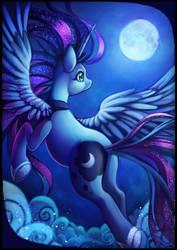 Princess Luna by Sprucie