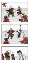 TF2: Friendship Forever by Pandadrake