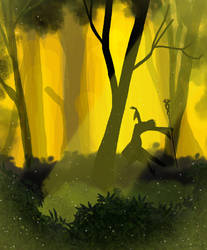 Brecilian Forest by PeculiarDolls