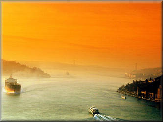 the Bosphorus. by cagnur
