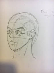 Head side angle practice by challock