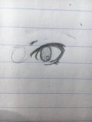 Eye practice  by challock