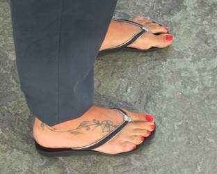 Flip Flops 15 by Feetatjoes