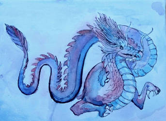 Chinese Dragon by valia12341