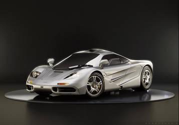 McLaren F1 by artist-tortured
