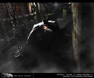 The Dark Knight by artist-tortured