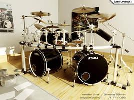 Dream Drumkit by artist-tortured