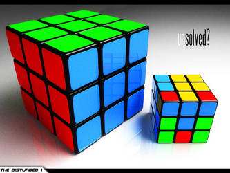 To Rubik, or not to Rubik by artist-tortured