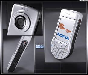 Nokia 6630 by artist-tortured