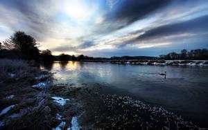 Frozen Sunrise by nxxos