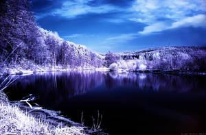 Blue Lake by nxxos
