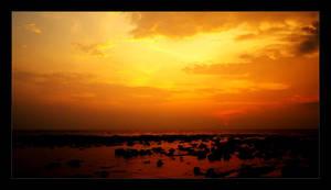 Sunset in Thailand by nxxos