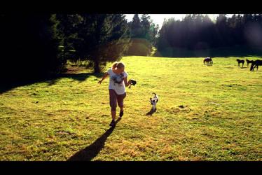 Run dog run by MrsMay