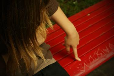 Sur le banc. by MrsMay