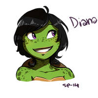 Diana by Suzukiwee1357