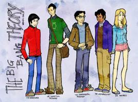 The Big Bang Theory by martinacecilia